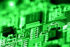 Platine mit Transistoren